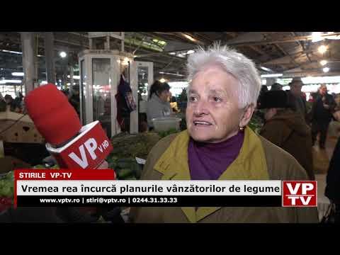 Vremea rea încurcă planurile vânzătorilor de legume