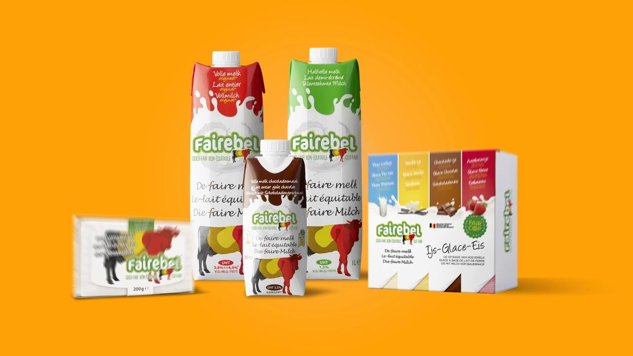 Les produits laitiers Fairebel