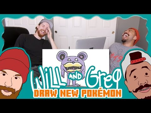 Will & Greg Draw New Pokemon (Ep. 17)