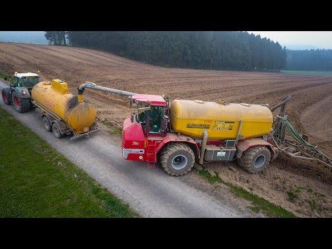 Lohnunternehmen Reiff : HOLMER Terra-Variant 600 + 2 FENDT with slurry tanker