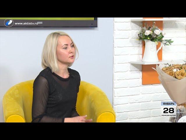 Гость программы «Новый день» Марина  Скоробогатова