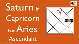 Saturn In Capricorn - For Ascendants