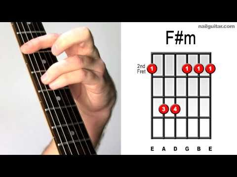 F#m (Minor) - How To Play Important Guitar Chords
