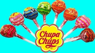 Learn Colours and to Count With Candy Chupa Chups! Fun Learning Contest! Kids Lesson