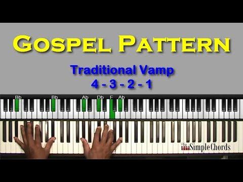 Traditional Gospel Pattern - (4-3-2-1) - Pattern #2