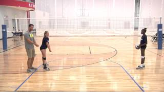 Passing In Proper Posture – Volleyball Drill