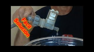 Como Reparar Valvula de Lavadora con Perdidas Internas / Repair Washer Valve with Internal Losses