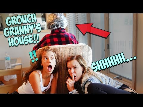 WE BREAK INTO GROUCHY GRANNY'S HOUSE!!!