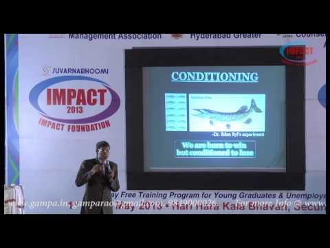 Happiness|Muralidhar |TELUGU IMPACT Hyd 2013