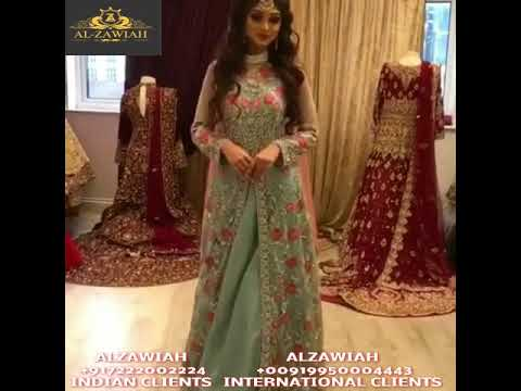 a8bc7f49a2 alzawiah designer wedding and party wear dresses for nikah and mehendi  function