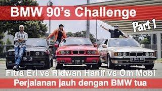 BMW 90's Challenge | part 1: Jakarta - Cirebon