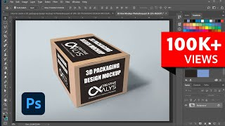 How to Create 3D Packaging Design Mockup in Photoshop   Tutorial