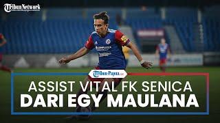 Debut Manis Egy Maulana Vikri di Slovakia, Catatkan Assist Vital Bawa Kemenangan FK Senica