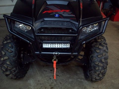 12 Inch Cheap Ebay Cree LED Lightbar Review Play