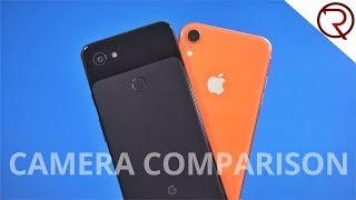 Apple iPhone XR vs Google Pixel 3a XL Camera Comparison!