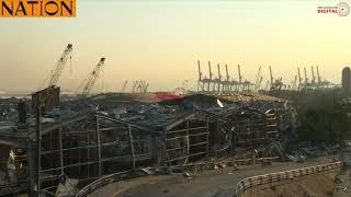 VIDEO: Apocalyptic scenes as blasts ravage Beirut