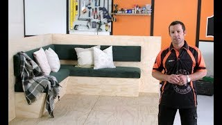 How To Build Bench Seats With Storage | Mitre 10 Easy As DIY