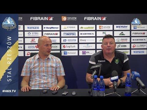 WIDEO: Stal Rzeszów - GKS Katowice 1-1 [WYPOWIEDZI]