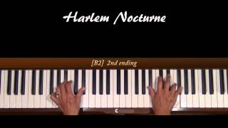 Harlem Nocturne Piano Cover with Separate Tutorial