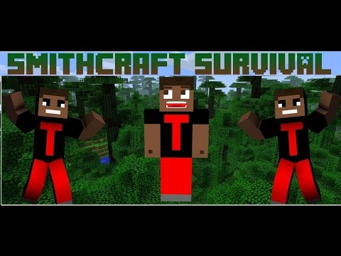 Minecraft SmithCraft Survival #1: Reboot Time!!(Mean Mobs, Minecraft Drought, Walking Dead!)