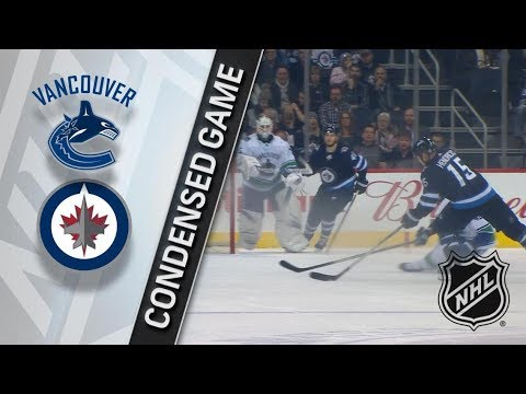 Vancouver Canucks vs Winnipeg Jets – Dec. 11, 2017 | Game Highlights | NHL 2017/18. Обзор матча