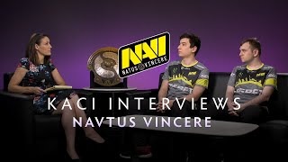 Na'Vi Interview with Kaci - The International 2019