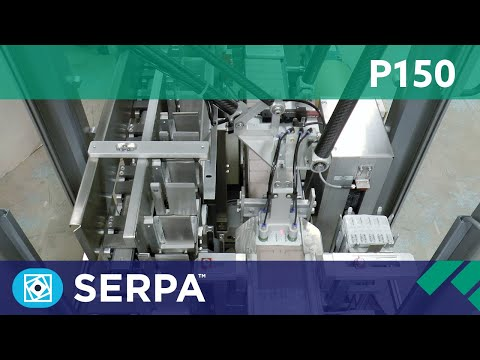 P150 Intermittent Cartoner running multiple blister packs – Serpa Packaging Solutions