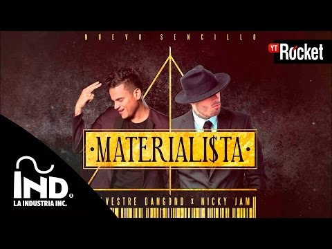 Materialista Cover Audio Silvestre Dangond y Nicky...