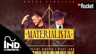 Materialista   Silvestre Dangond & Nicky Jam | Cover Audio
