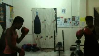 preview picture of video 'boxing training nadi town- crib fitnesscentre'
