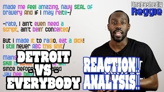 Detroit VS Everybody Eminem Verse REACTION!! ANALYSIS