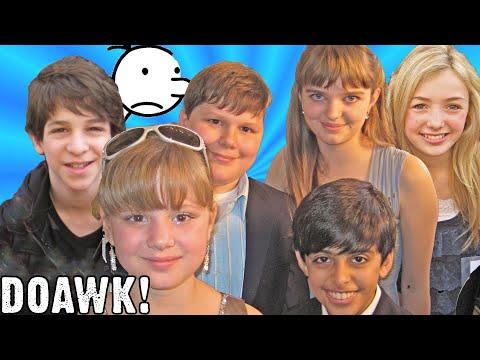 Diary of a Wimpy Kid Cast! Peyton List, Zachary Gordon, Karan Brar, Laine MacNeil & Robert Capron!