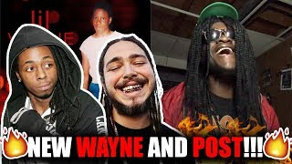 Lil Wayne   What About Me (Audio) Feat. Post Malone (REACTION!)
