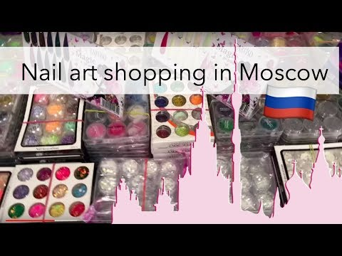 Nail art shopping haul in Russia ??$3 Brushes & more