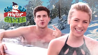 HOT TUB TRUTH OR DARE (Smosh Winter Games)