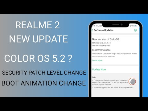 Color os 5 2 update for realme mobile | How to get manually 5 2
