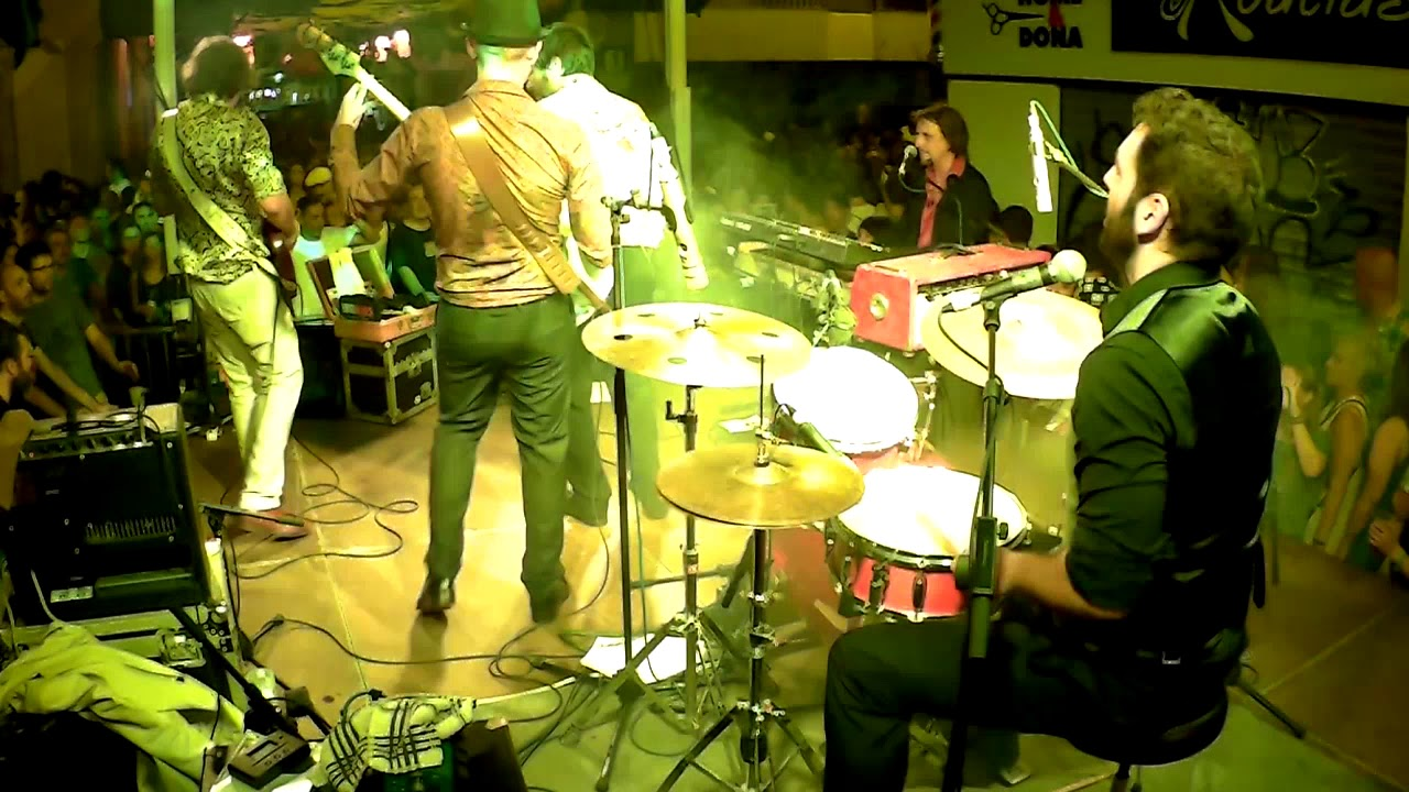 DrumCam - Tota Blues Band - Sugar Sweet (Barcelona, 2017)