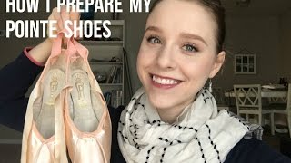 """How I """"3/4"""" and Jet Glue my Pointe Shoes - TwinTalksBallet"""