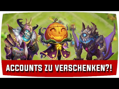 Castle Clash | ACCOUNTS ZU VERSCHENKEN?! ♦ Schloss Konflikt [Deutsch]