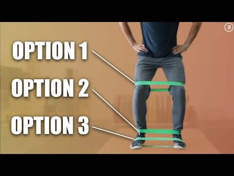 How To Properly Perform Lateral Band Walks (Banded Side Stepping)