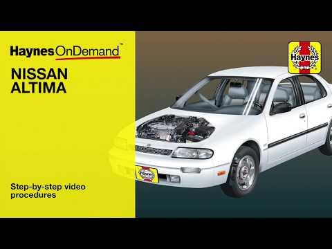 Haynes Manuals – Nissan Altima  (1993 – 2006) OnDemand preview