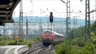preview picture of video 'Eisenbahnverkehr in Hildesheim Hauptbahnhof'