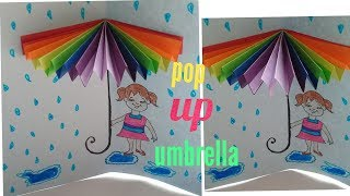 DIY/How To Make Popup Umbrella Card/