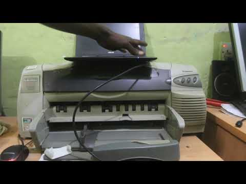How to install HP deskjet 1220c printer driver