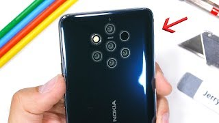 Nokia 9 PureView Durability Test - This Smartphone has 7 Cameras