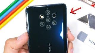 Nokia 9 PureView Durability Test - This Smartphone has 7 Cameras