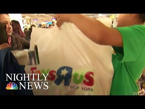 Toys 'R' Us Files For Chapter 11 Bankruptcy Protection   NBC Nightly News