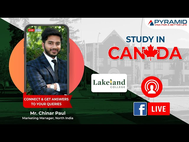 Live Interaction with delegate of Lakeland College!!!
