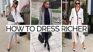 16 Fool-Proof Fashion Secrets to Dress Richer