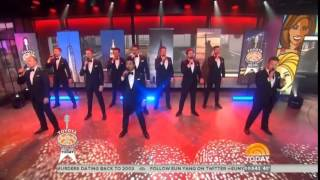 The Ten Tenors perform live on the Today Show